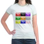 Colourful House Jr. Ringer T-Shirt