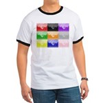 Colourful House Ringer T