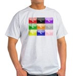 Colourful House Light T-Shirt