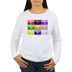 Colourful House Women's Long Sleeve T-Shirt