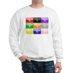 Colourful House Sweatshirt