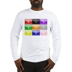 Colourful House Long Sleeve T-Shirt