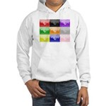 Colourful House Hooded Sweatshirt