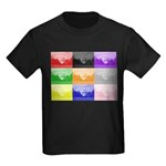 Colourful House Kids Dark T-Shirt