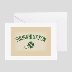 Shenanigator Greeting Card