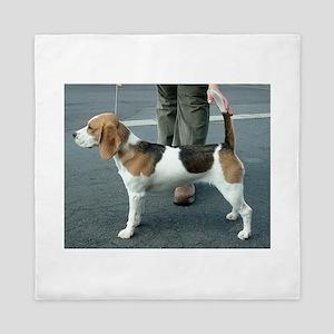 beagle full Queen Duvet