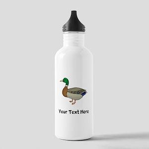 Mallard Duck (Custom) Water Bottle