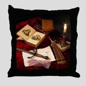 Medieval Still Life Throw Pillow