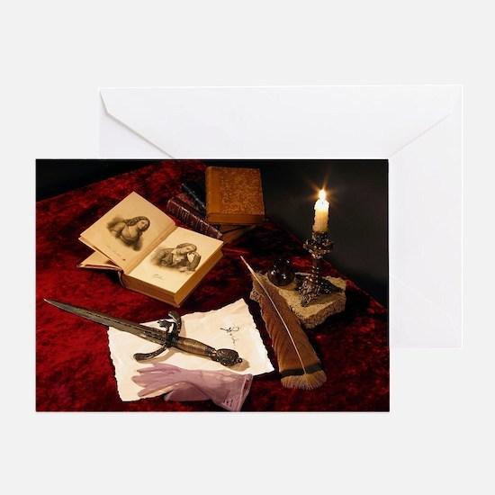 Medieval Still Life Greeting Card