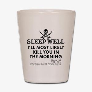 Sleep Well Shot Glass