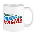 Proud Greek and Italian Mug
