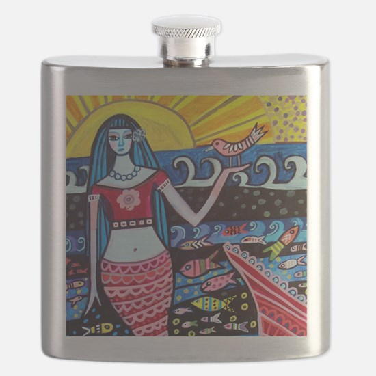 Mermaid Flask