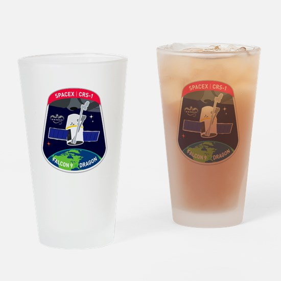 CRS-1 Logo Drinking Glass