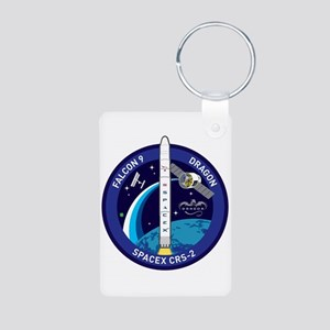 CRS-2 Logo Aluminum Photo Keychain