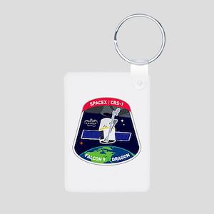 CRS-1 Logo Aluminum Photo Keychain