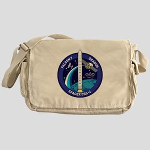 CRS-2 Logo Messenger Bag