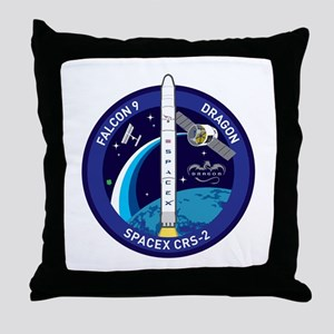 CRS-2 Logo Throw Pillow