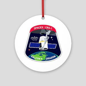 CRS-1 Logo Round Ornament