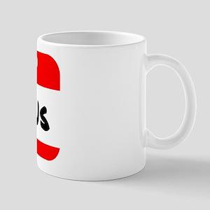 Hello My Name is Burrows Mug
