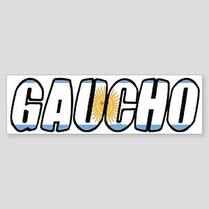 gaucho Bumper Sticker