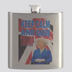KEEP CALM AND IGNORE TRUMP Flask