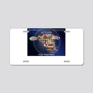 PERSONALIZED ENDURING FREED Aluminum License Plate