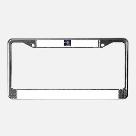 PERSONALIZED ENDURING FREEDOM License Plate Frame