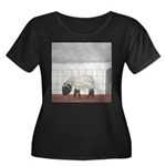 April Showers Plus Size T-Shirt