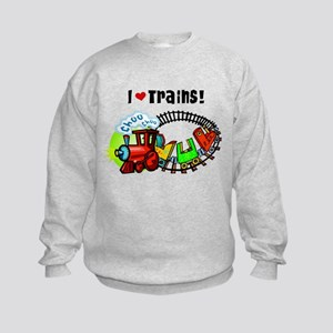 I Love Train Sweatshirt