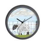 May Flowers Wall Clock