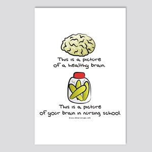 Nursing School Brain Postcards (Package of 8)