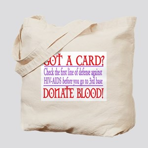 GOT A CARD? Tote Bag