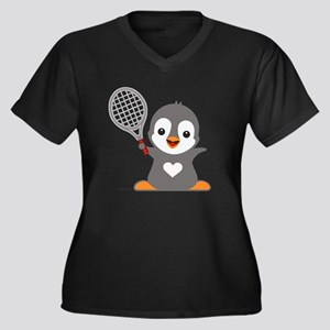 Poby Penguin Plus Size T-Shirt