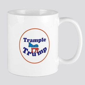 Trample Trump, Anti Trump Mugs
