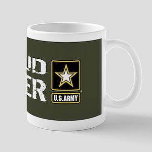 U.S. Army: Proud Sister (Military Green Mug