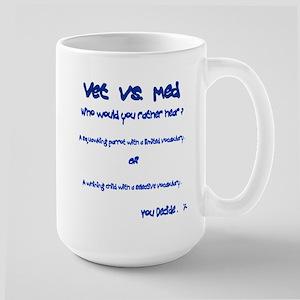 Vet vs Med Large Mug