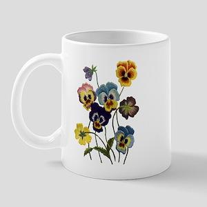 PARADE OF PANSIES Mug