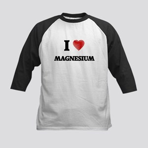 I Love Magnesium Baseball Jersey