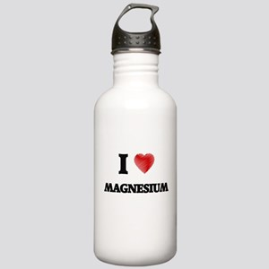 I Love Magnesium Stainless Water Bottle 1.0L