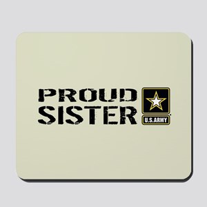 U.S. Army: Proud Sister (Sand) Mousepad
