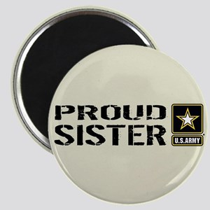 U.S. Army: Proud Sister (Sand) Magnet