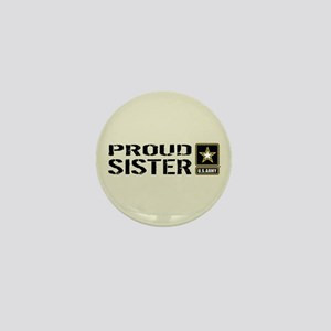 U.S. Army: Proud Sister (Sand) Mini Button