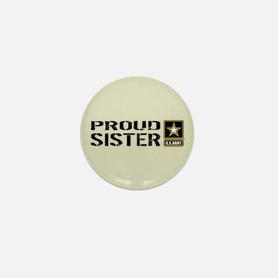 U.S. Army: Proud Sister (Sand) Mini Button