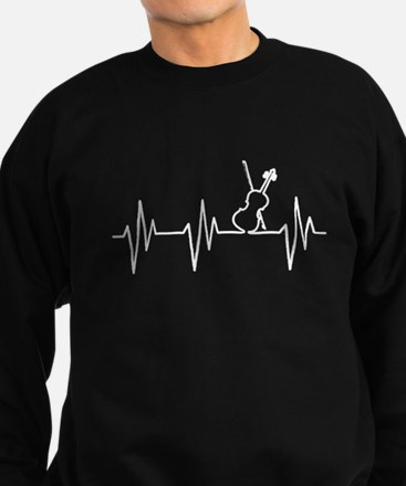 VIOLIN HEARTBEAT Sweatshirt (dark)