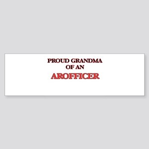 Proud Grandma of a Arofficer Bumper Sticker