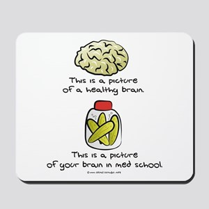 Med School Brain Mousepad