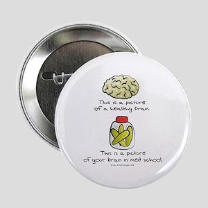 Med School Brain Button
