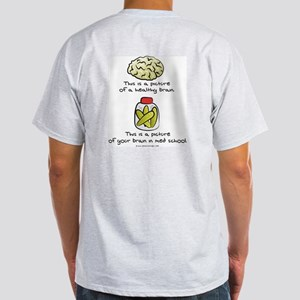 Med School Brain Light T-Shirt