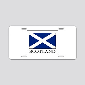 Scotland Aluminum License Plate