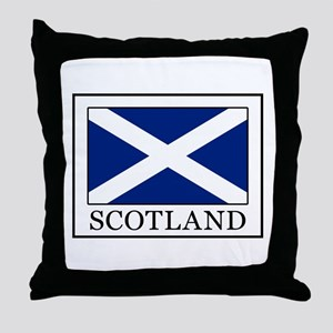 Scotland Throw Pillow
